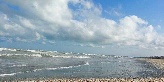 زمین ساحلی ۴۰۰ متری شیک زیباکنار