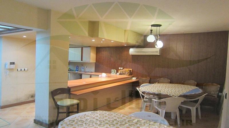 نمای آشپزخانه ویلای زیبا و بزرگ