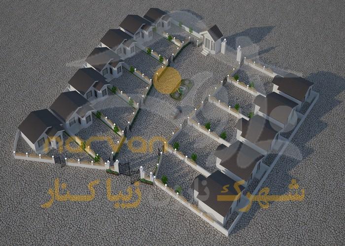 پلان موقعیت شهرک نارون