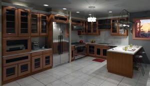 آشپزخانه مدرن ولوکس شمال