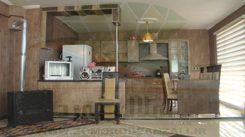آشپزخانه ویلای سوپر لوکس زیبا کنار