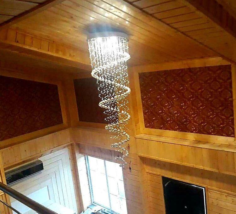 سقف چوبی نمای جدید